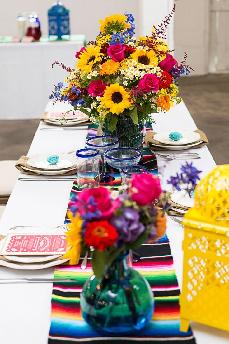 How To Style A Mexican Themed Table Bespoke Bride Wedding Blog Mexican Wedding Decorations Mexican Themed Weddings Mexican Party Theme