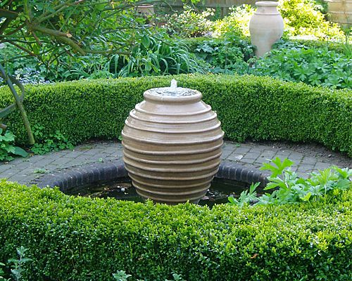 I have used these 39 beehive 39 pots again and again as a for Pot water feature ideas