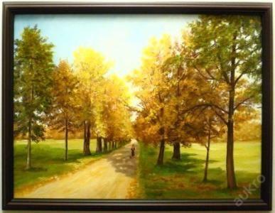 Shefr - ALEJ V POLÍCH - Olej na plátně