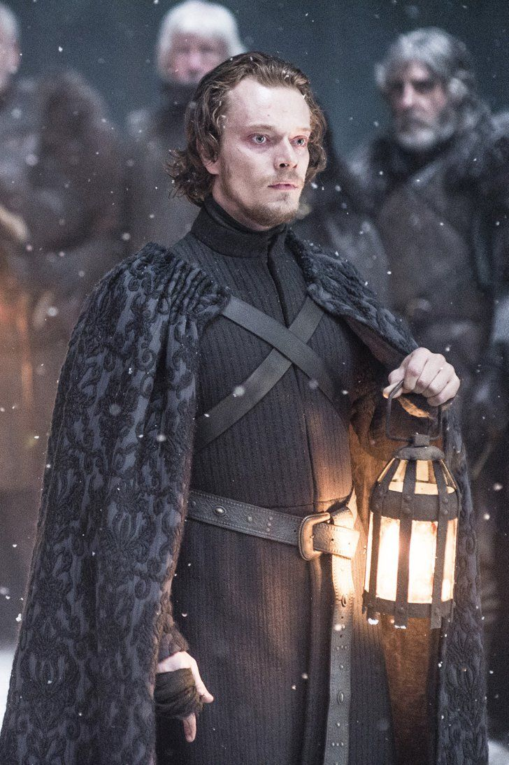 Pin for Later: We Sorted 33 Game of Thrones Characters Into Hogwarts Houses, Because It Needed to Happen Theon Greyjoy — Slytherin