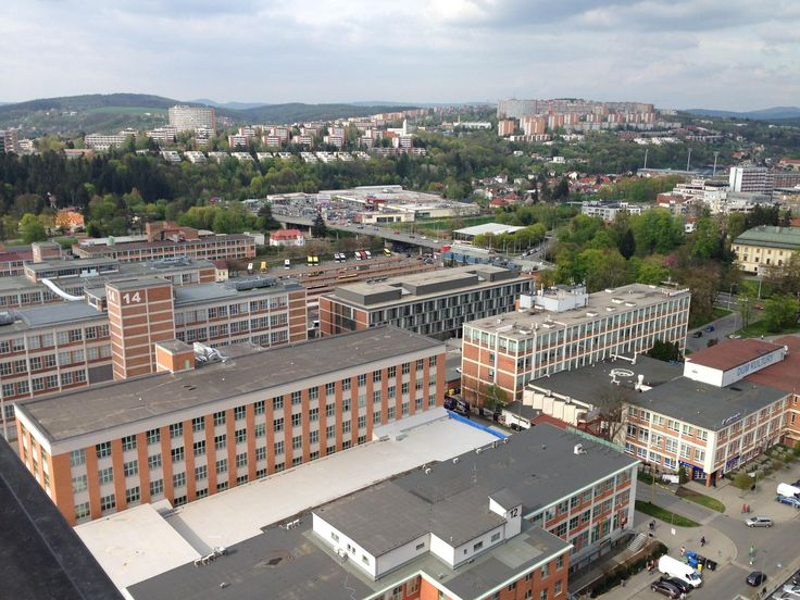 Bata's Skyscraper - Zlin, Czech Republic