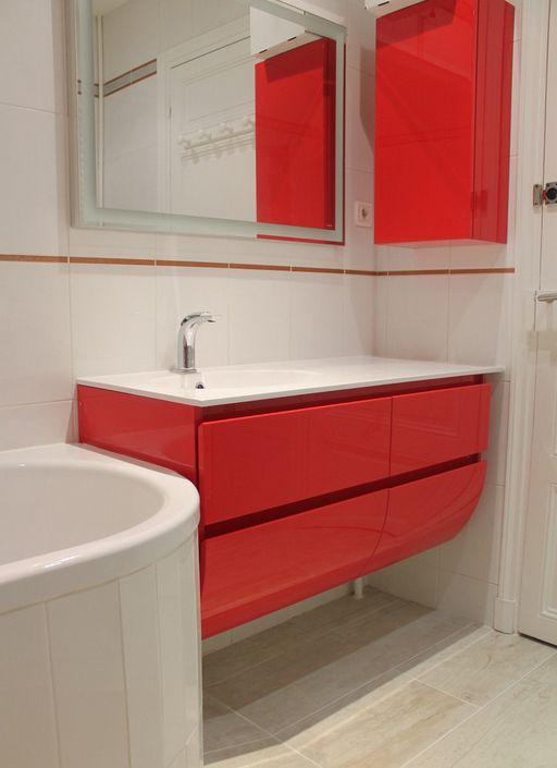 R novation d 39 une salle de bain avec incorporation d une for Carreler une salle de bain avec baignoire