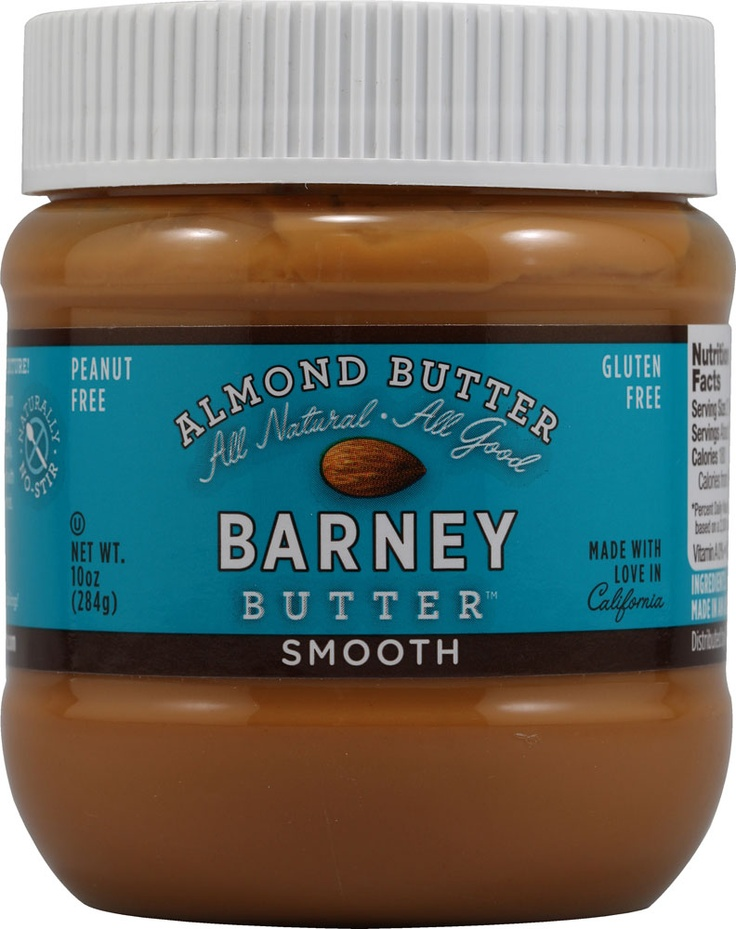 #vitacostfoodie - Barney Butter Almond Butter Smooth. I spoon this onto a banana nearly every day :-P