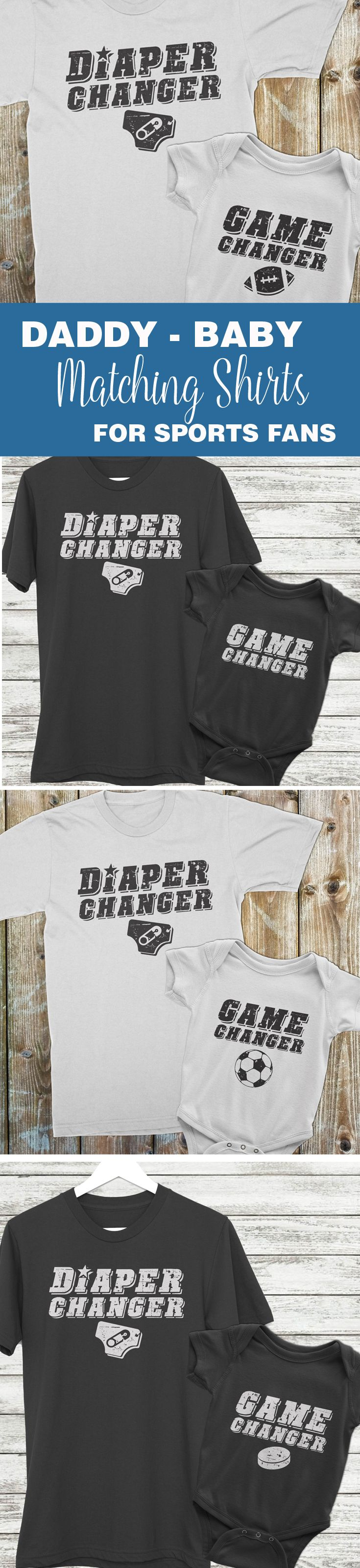 Father To Be Gifts From Baby Part - 36: Matching Baby And Daddy Shirts, Dad Baby Matching, Matching Father Son,  Manlyu2026