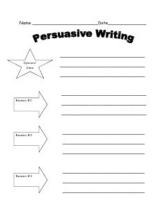 118 best graphic organizers images on pinterest teaching ideas persuasive writing spiritdancerdesigns Image collections