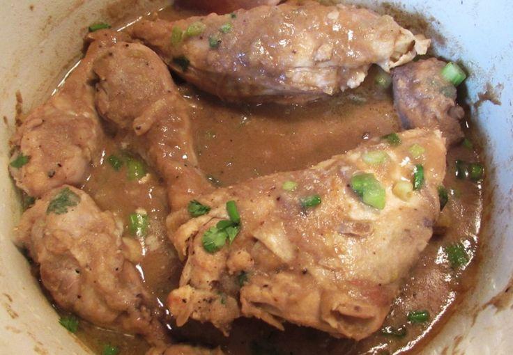 Paleo Cajun Chicken Fricassee Recipe