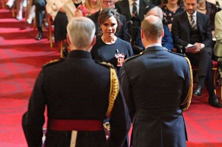 really... VB gets an OBE, she aught to learn how smile.