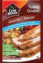 Club House 25% Less Salt Gravy Mix for Turkey @DinnerByDesign