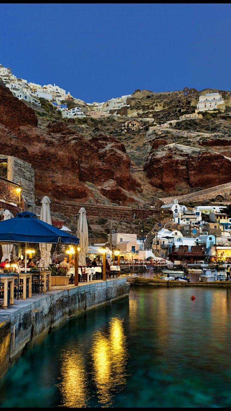 Ammoudi, Santorini, Greece