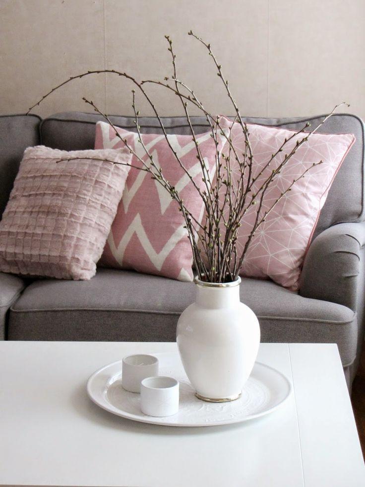 Wohnzimmer grau magenta ~ Ideen für die Innenarchitektur Ihres Hauses