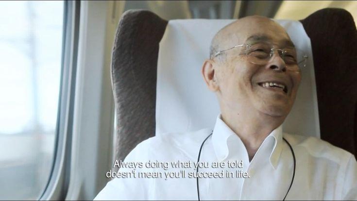 """From """"Jiro Dreams of Sushi,"""" ~Jiro Ono."""