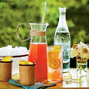 Sweet Tea Spritzer | MyRecipes.com {If iced tea is the house wine