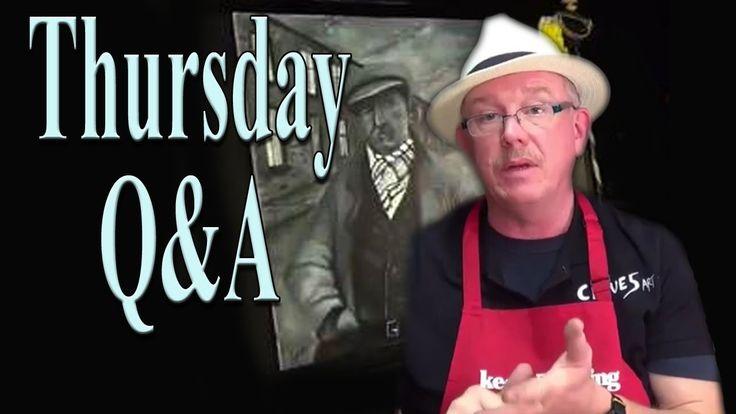 Beginners, Acrylic, Painting ,Tutorial- Thurday Q&A 23 april