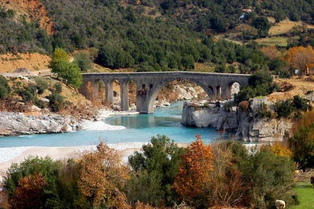 BRIDGE IN KARPENISI, GREECE