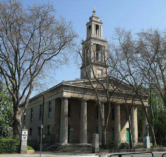 St George's Church, Wells Way, Camberwell, London