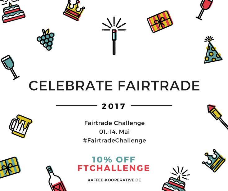 Fairtrade Challenge 2017 - Wir sind dabei, du auch?