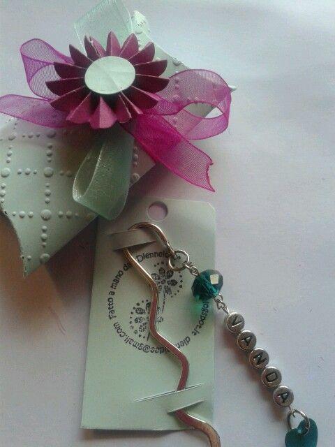 segnalibro personalizzato, bookmark and box handmade