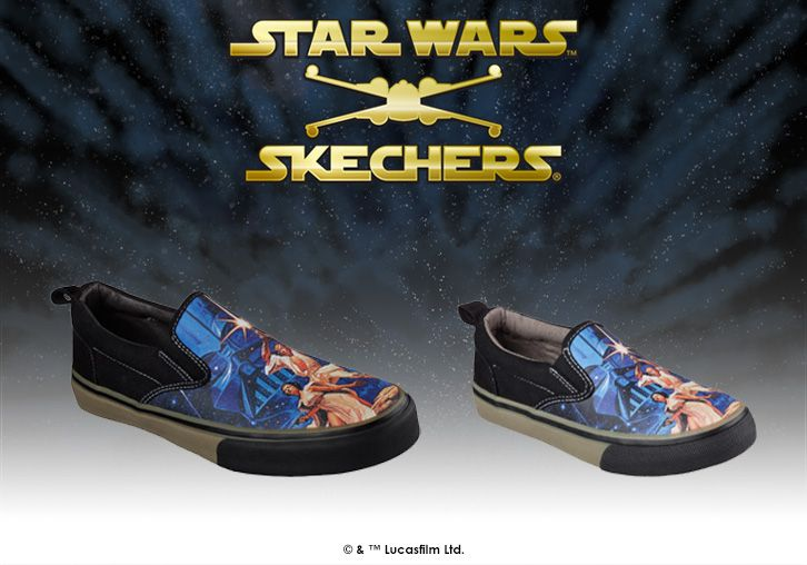 We've got fans of all ages covered with classic #StarWars slip-ons in adult and kid sizes. Find your pair: http://spr.ly/6001BPN3W http://spr.ly/6009BPNnW