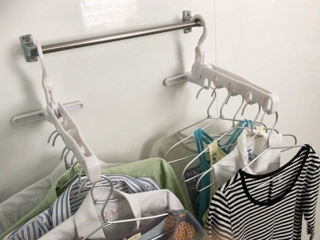 5人家族の洗濯物 浴室に干しきれない 乾かないは 身近な道具で解決