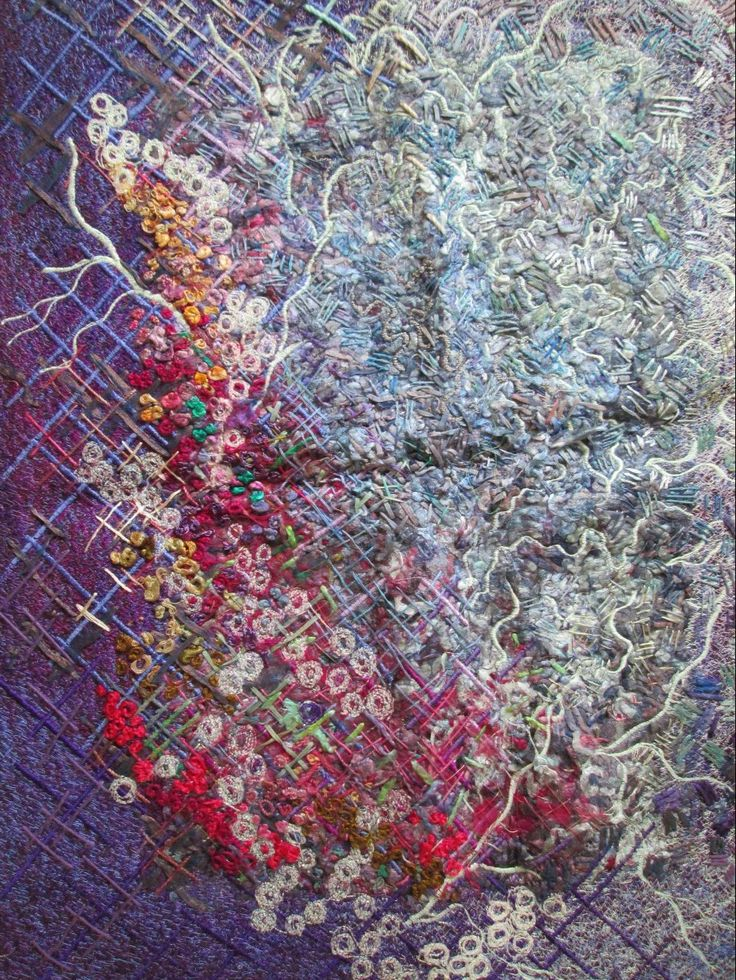 my hand embroidery.summer in london. batia sheffer