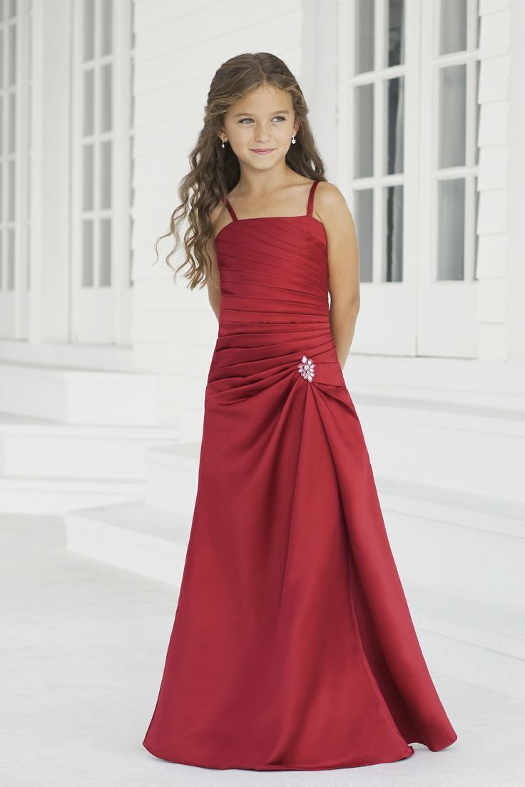 30 best kjoler images on pinterest bridesmaid dress styles mia absolutely loves this dress for the quince satin a lineruchingsweetheart style 38 junior bridesmaid dress by alexia designs ombrellifo Images