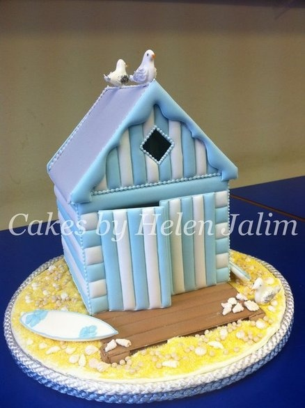 each hut  Cake by cakesbyhelen