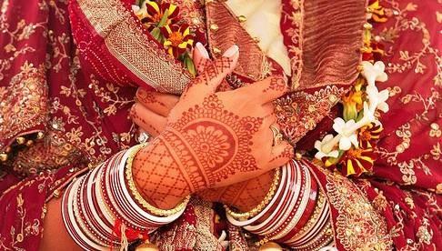 印度新娘手繪