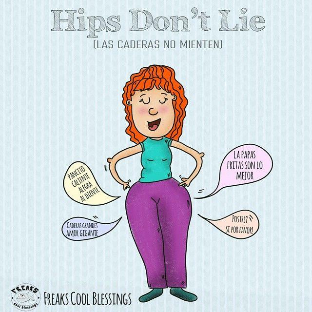 Hips don't lie. #hips #caderas #illustration  #food #beauty
