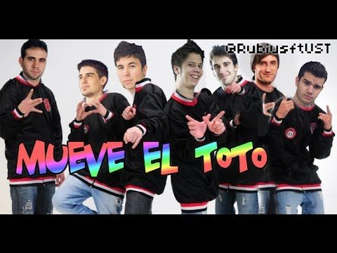 Mueve el toto (Youtubers)
