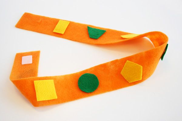 Team Umizoomi: Geo's shape belt - make out of felt.
