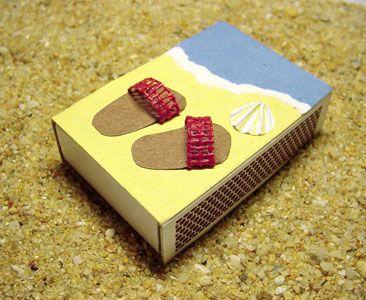 Caja de fósforos decorada 2