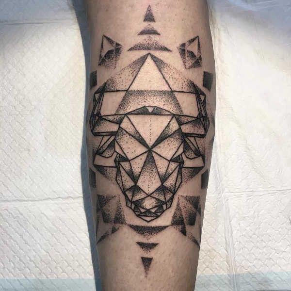 Tatuaż Byk Znaczenie Symbolika 50 Zdjęć Pomysł Na Tatuaż