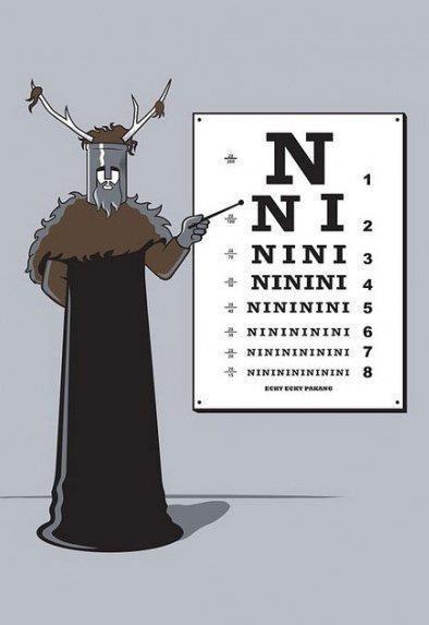 Ni!Geek, Montypython, Holygrail, Laugh, Stuff, Knights, Funny, Holy Grail, Monty Python