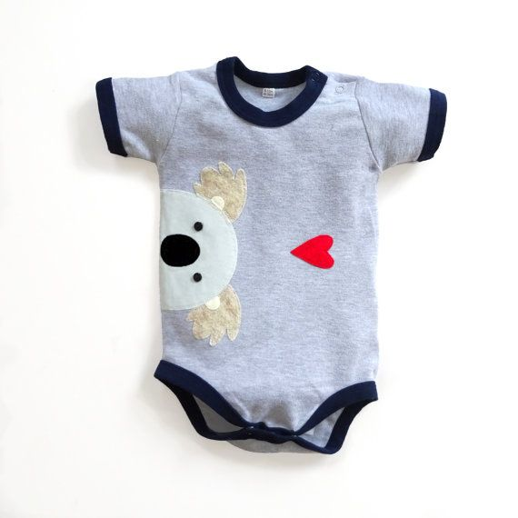 Baby Koala Bodysuit : Baby Boy  Baby Boy Shower New by mypipsqueak