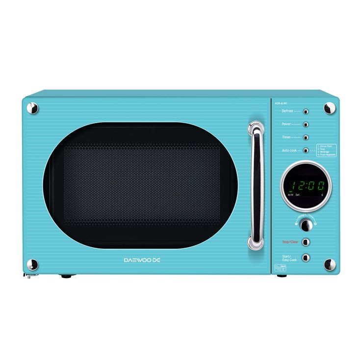 Daewoo Kor6n9rt Microwave Oven 20 L 800 W Turquoise