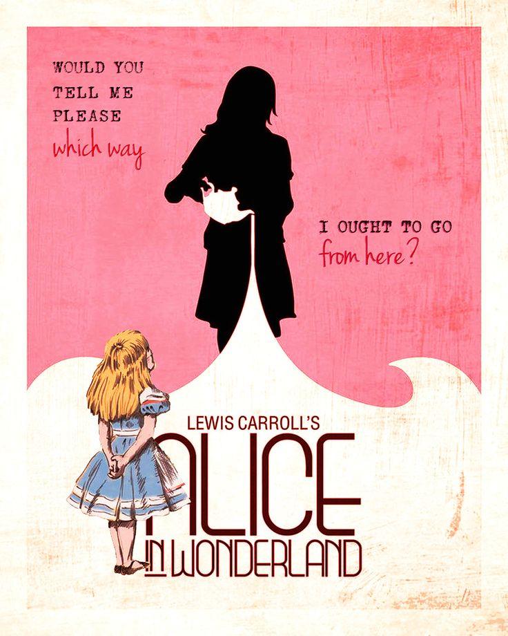Alice Demande son Chemin - par Les Contes Succulents - Alice in Wonderland