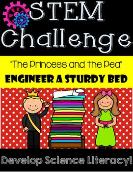 This engineering challenge aligns to fifth grade McGraw-Hill Wonders Series, The Princess and the Pea by Hans Christian Andersen, retold by XineAnn. Liven up your literature with an engaging engineering design!After reading the story, students will design a  sturdy bed that must support weight without collapsing.