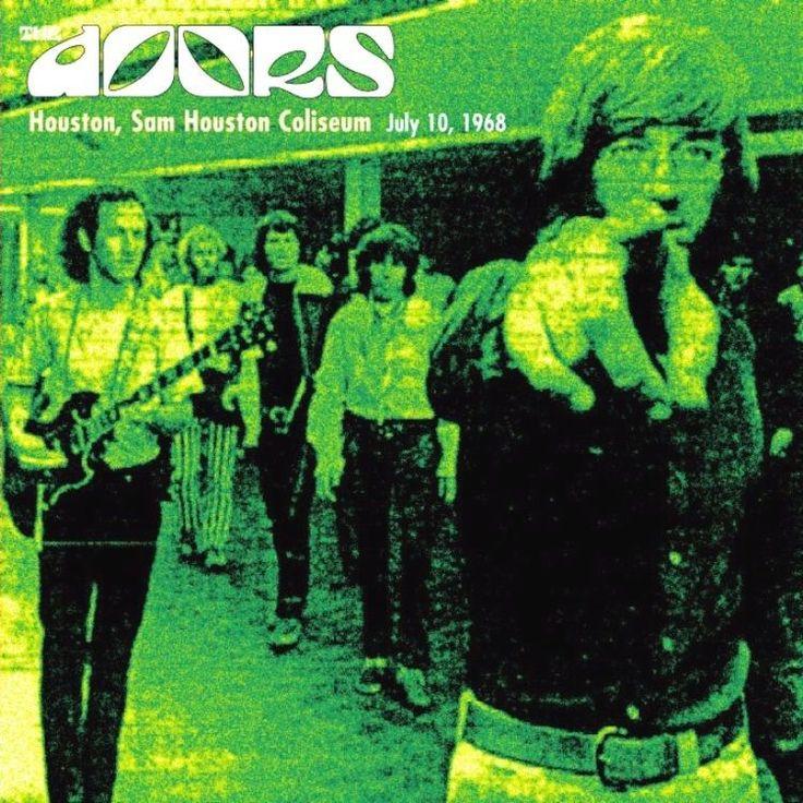 The Doors Houston, Sam Houston Coliseum July 10, 1968 #thedoors #cd
