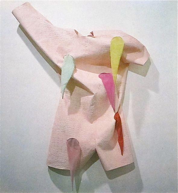 """Cinzia Ruggeri """"Statue of Liberty"""" overall  ca. 1980s"""
