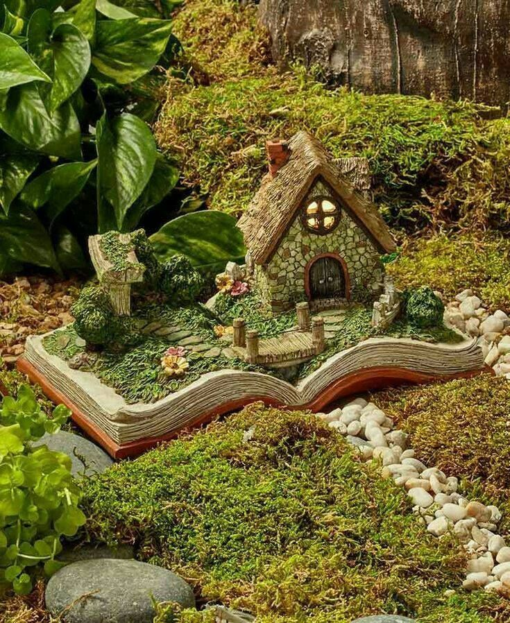 Pin By Marichl P On Le Monde En Petit Miniature Fairy Garden Diy Fairy Garden Houses Fairy Garden Diy
