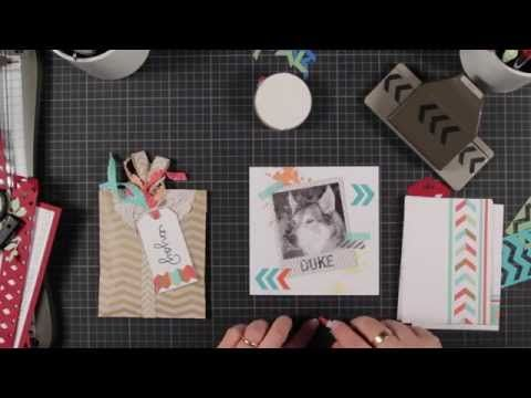 Chevrons are really popular at the moment - check out all the ways you can use the Stampin Up chevron punch with this fun video tutorial  http://www.vintagecelebrations.co.uk/2014/04/creative-ways-to-use-stampin-up-chevron.html