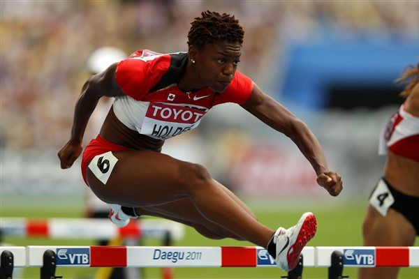 Nikkita Holder Canadian 100m Hurdler-London 2012 Olympian
