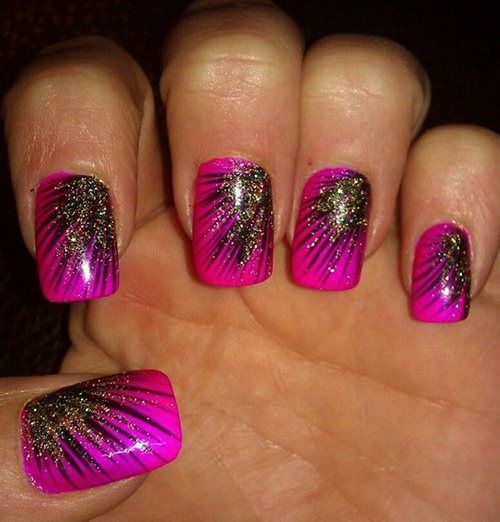 lovely nail art designs 2016