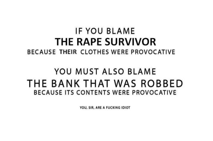 Rape Quotes Awesome If You Blame The Rape Survivor. Feministing  Pinterest