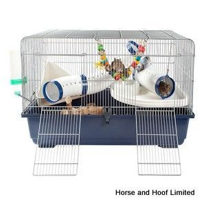 Little Zoo Ricky Large Rodent Cage 80 x 48 x 51cm Little Zoo Ricky Large Rodent Cage is a fun comfortable…