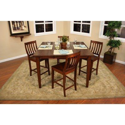 Este Butterfly Table With 4 Hyden Chairs By American Heritage 94975 713423