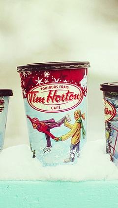 I love Tim Horton's COFFEE!!