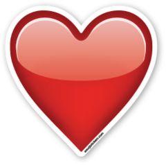 Heavy Black Heart | Emoji Stickers