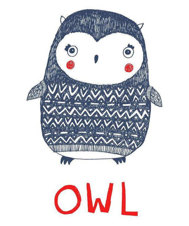 Owl via Thing I love