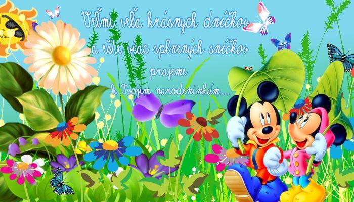 Veľmi veľa krásnych dníčkov a ešte viac splnených sníčkov prajeme k Tvojim narodeninkám......